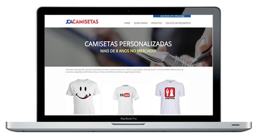 JCA Camisetas - Desenvolvimento e criação 7a0748ba17793