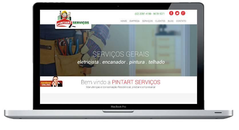 Criação de websites goiania