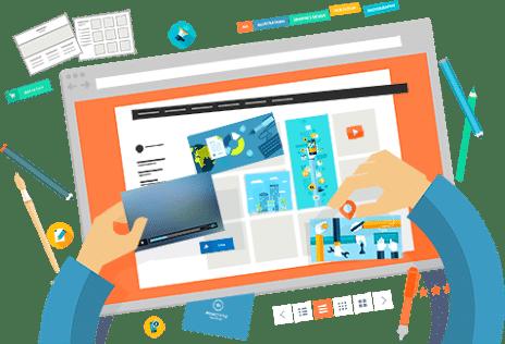 criação de sites no setor bueno